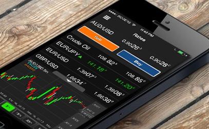 Trading móvil en Forex